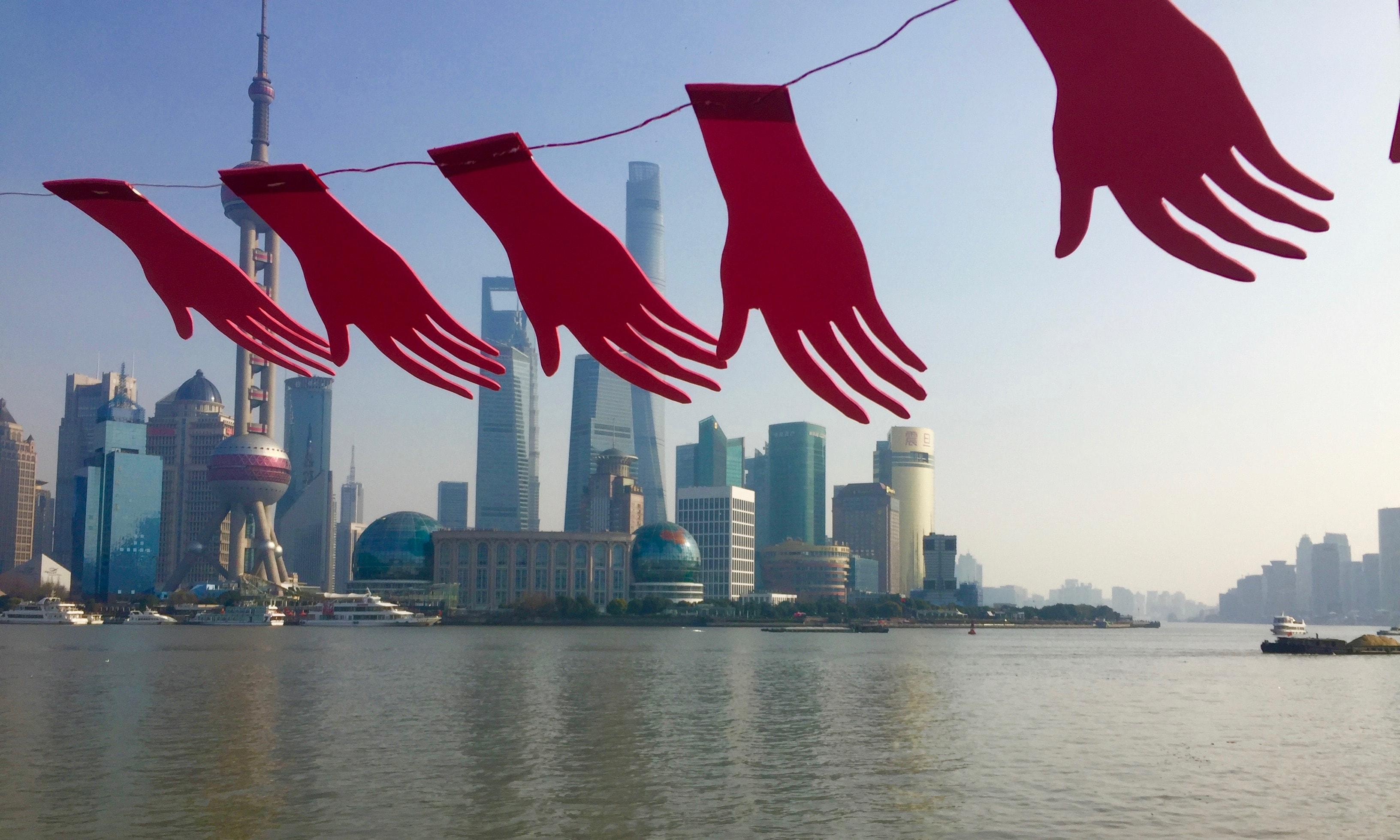 Shanghai - Bund by Barbara Bedin