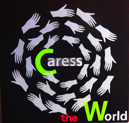 Logo Caress the World