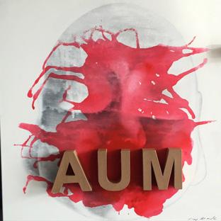 AUM - 100 x 100 cm