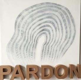 Pardon - 100 x 100 cm